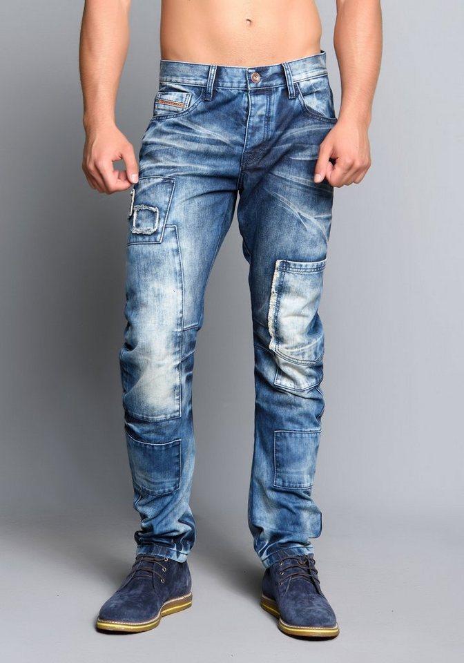 Cipo & Baxx Jeans Hose in JEANS HELLBLAU