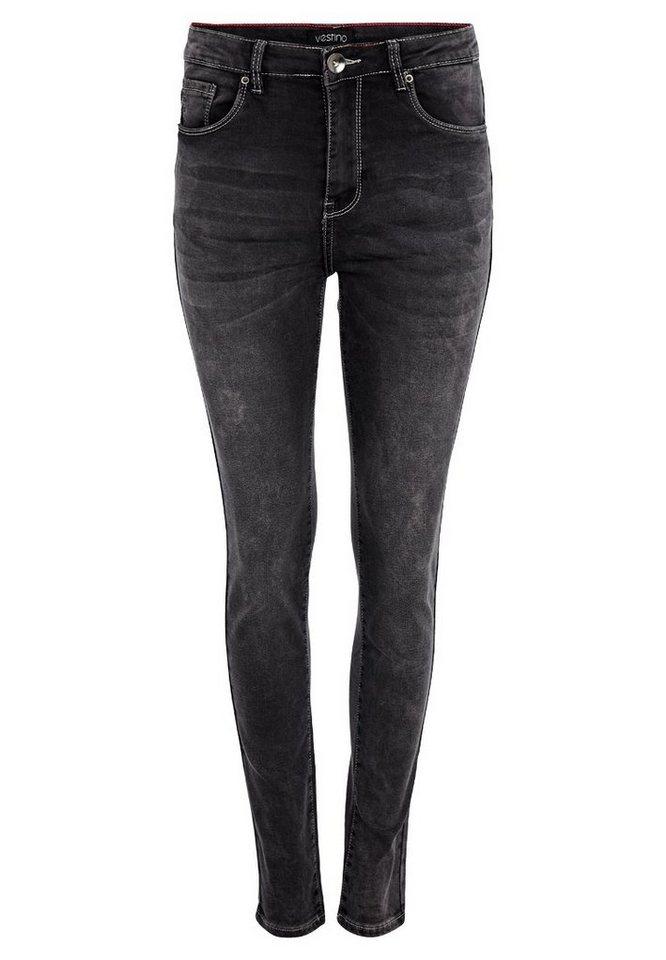Vestino Jeans in schwarz