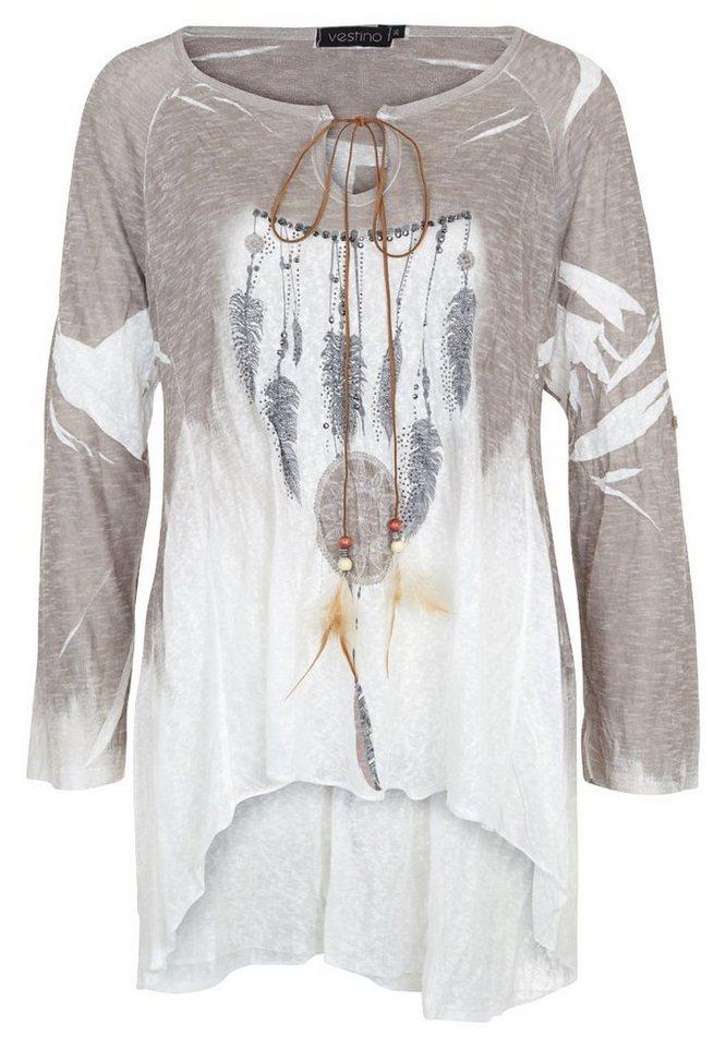 Vestino Shirt in taupe