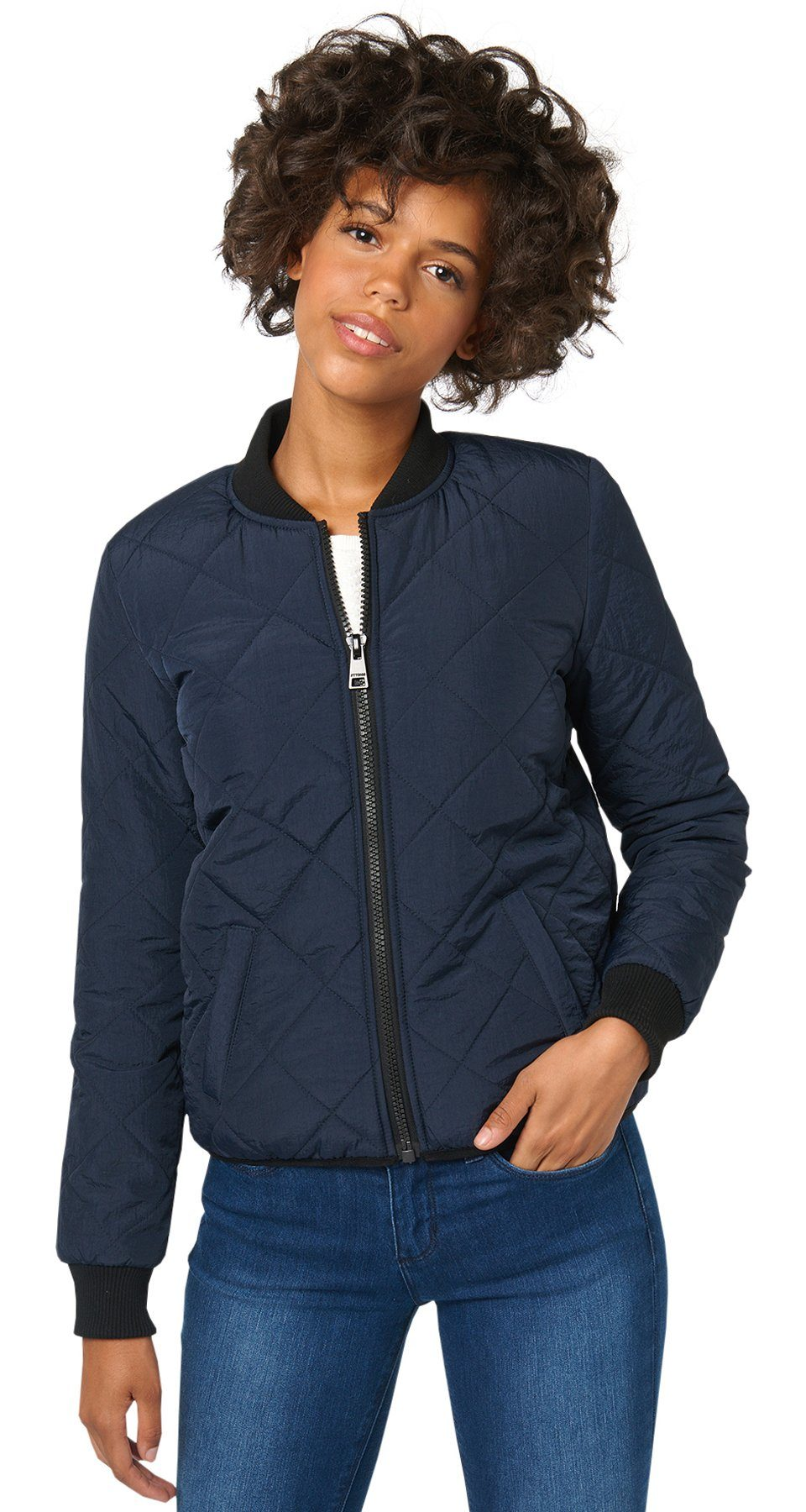 TOM TAILOR DENIM Jacke »gesteppte Bomber-Jacke«