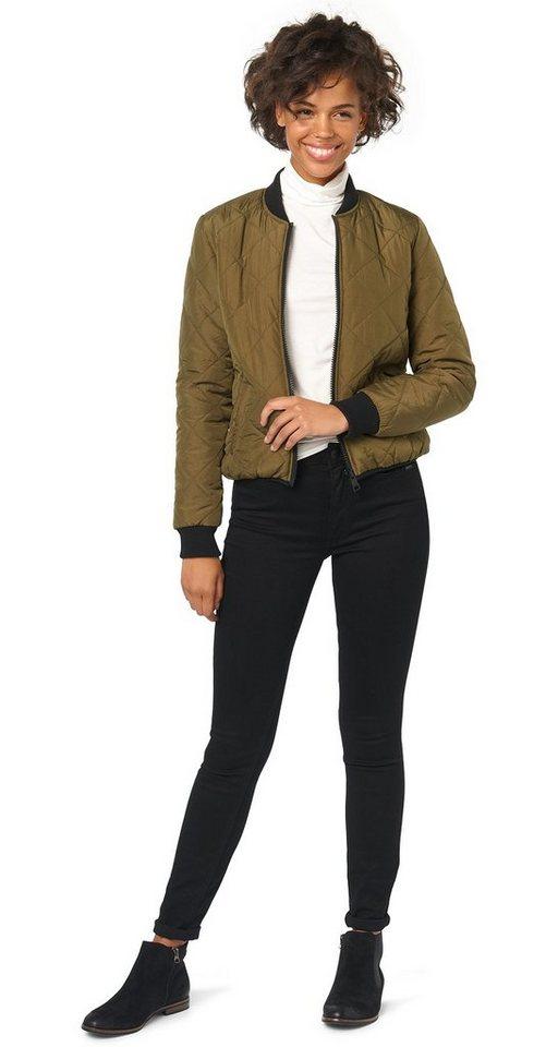 TOM TAILOR DENIM Jeans »farbige Jeans« in black