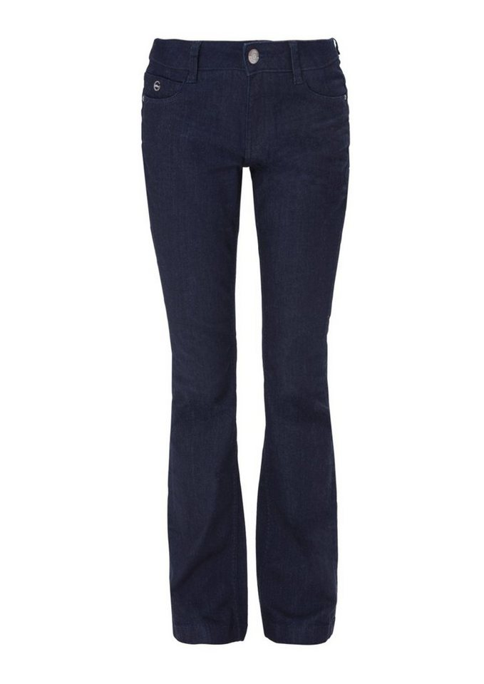s.Oliver RED LABEL Shape Bootcut: Dark Denim in blue denim stretch