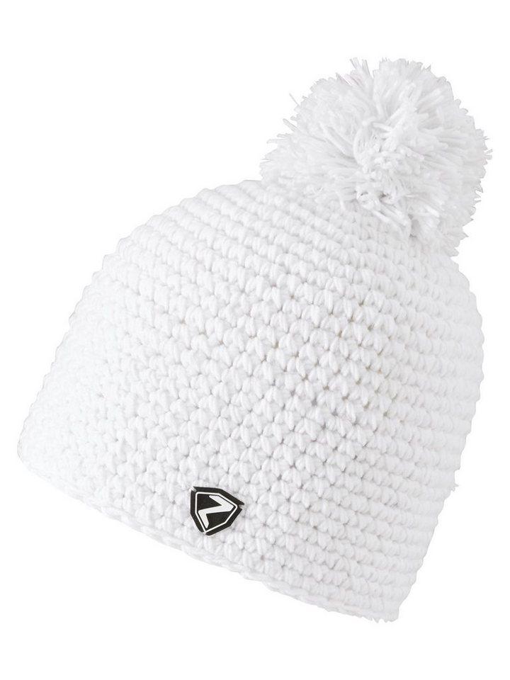 Ziener Mütze »INTERCONTINENTAL hat« in white