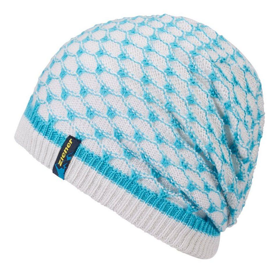 Ziener Mütze »IMO hat« in blue aqua