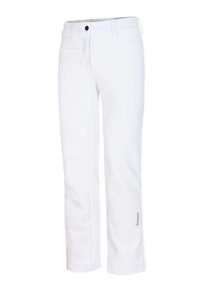 Ziener Hose »TIRZA lady (pant ski)« in white