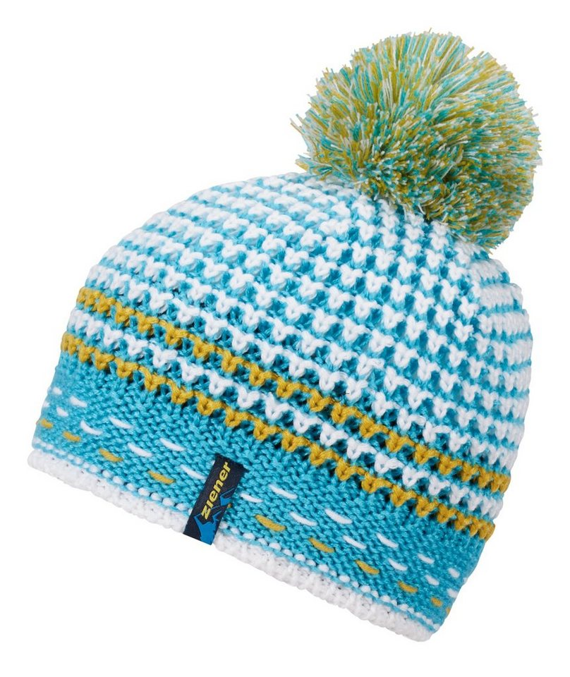 Ziener Mütze »ITAKA hat« in blue aqua