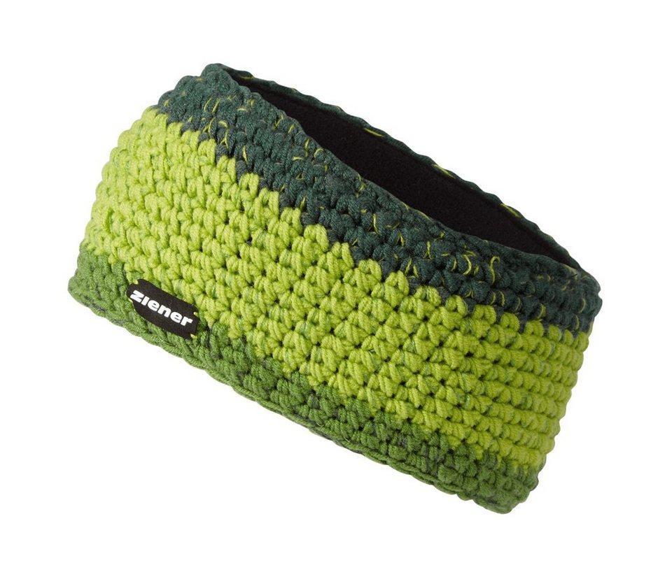 Ziener Stirnband »IHAB band« in green dark