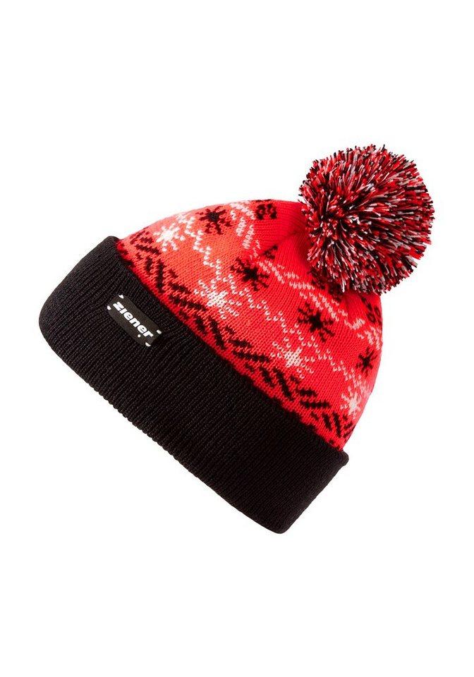 Ziener Mütze »INFITIT GIRLS hat« in hot red