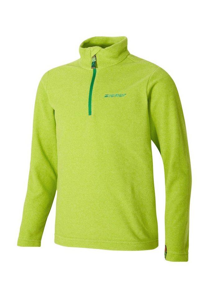 Ziener Unterzieher »JAMIL jun (underlayer shirt)« in lime green