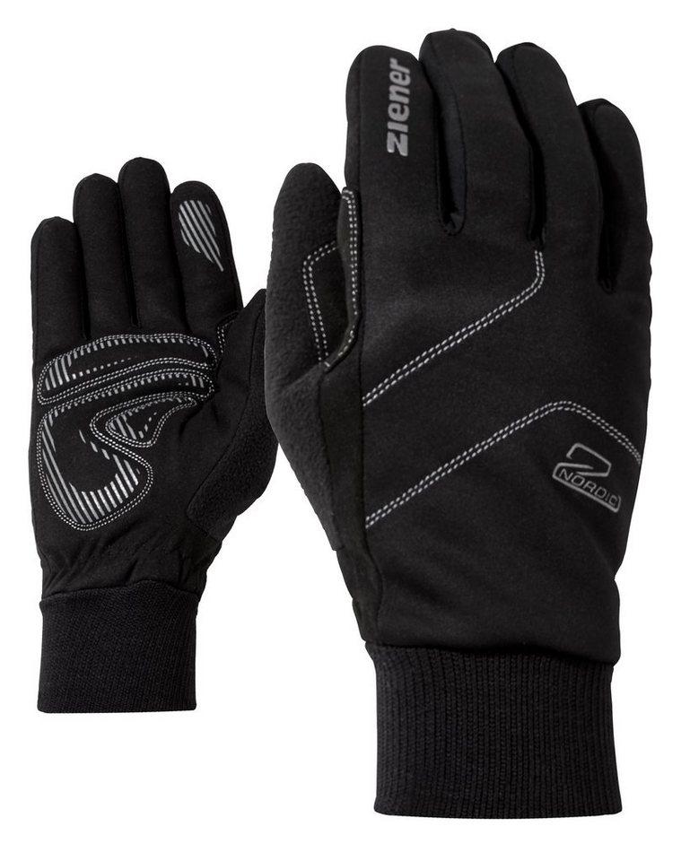 Ziener Handschuh »ULLER glove crosscountry« in black