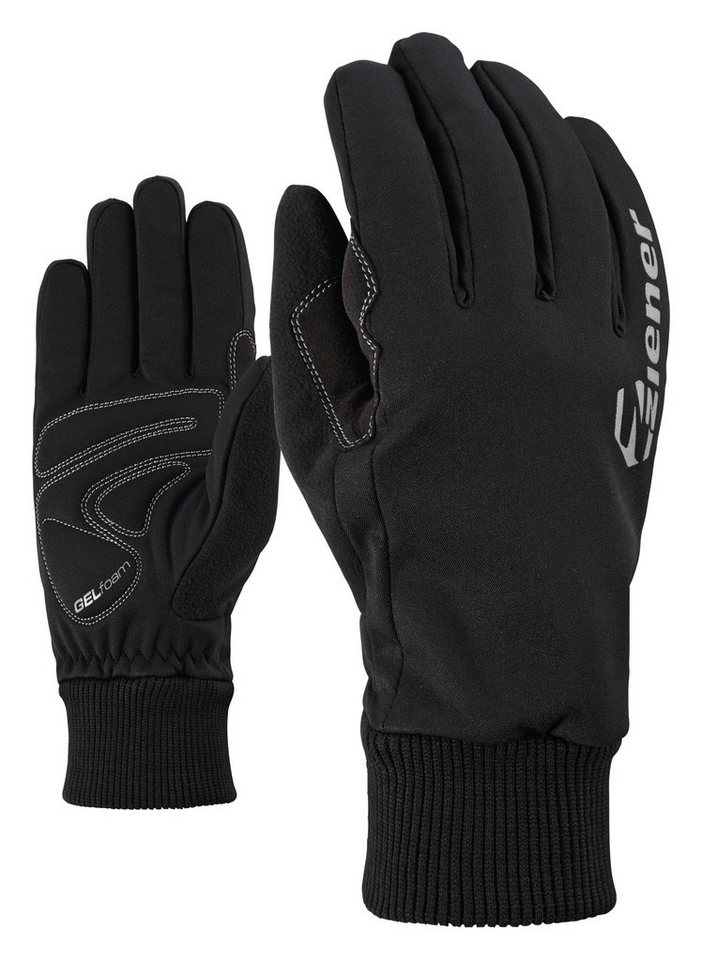 Ziener Handschuh »DIXON TOUCH Bike glove« in black