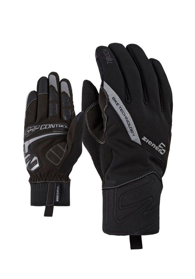 Ziener Handschuh »DANIRIS TOUCH Bike glove« in black