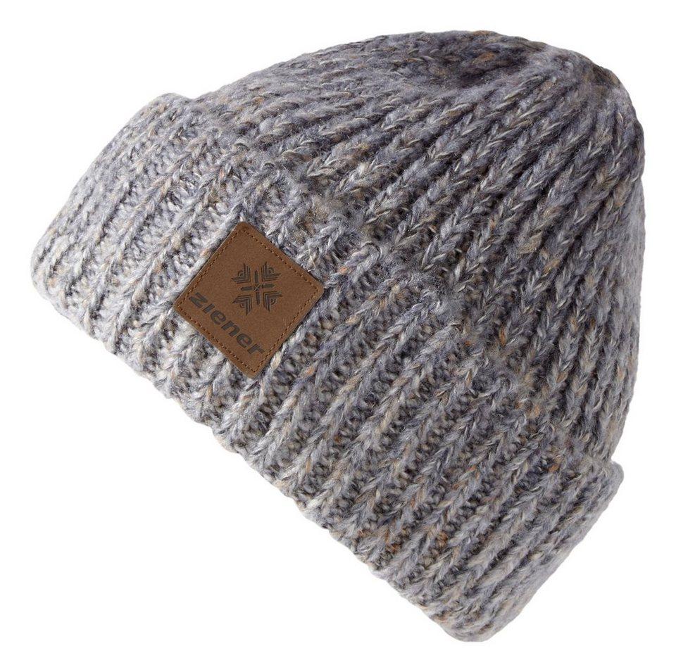 Ziener Mütze »IKUPIKA hat« in grey melange