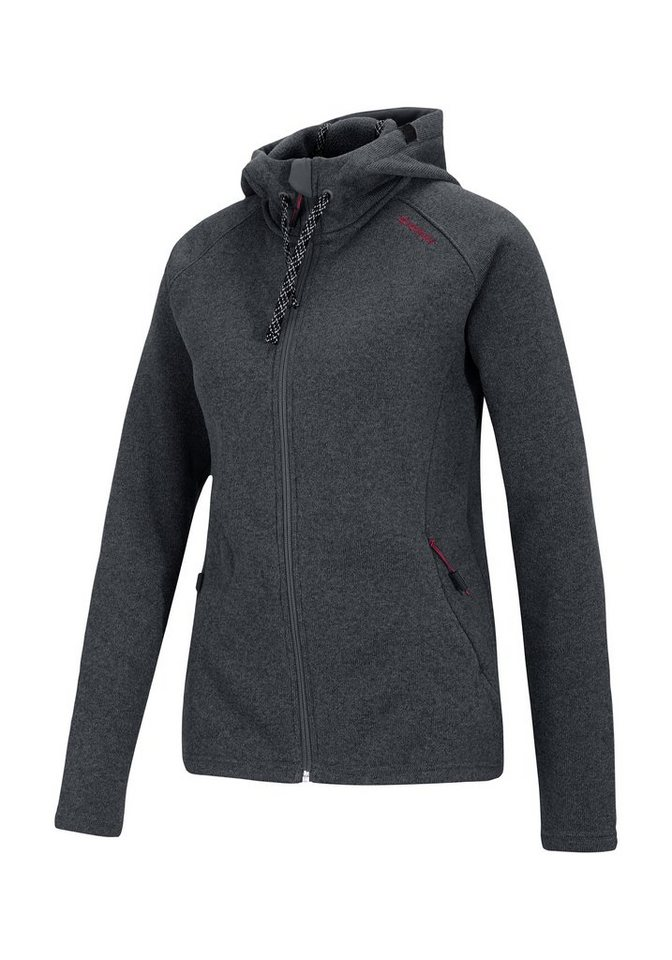 Ziener Unterzieher »JOSTA lady (underlayer hoody)« in graphite
