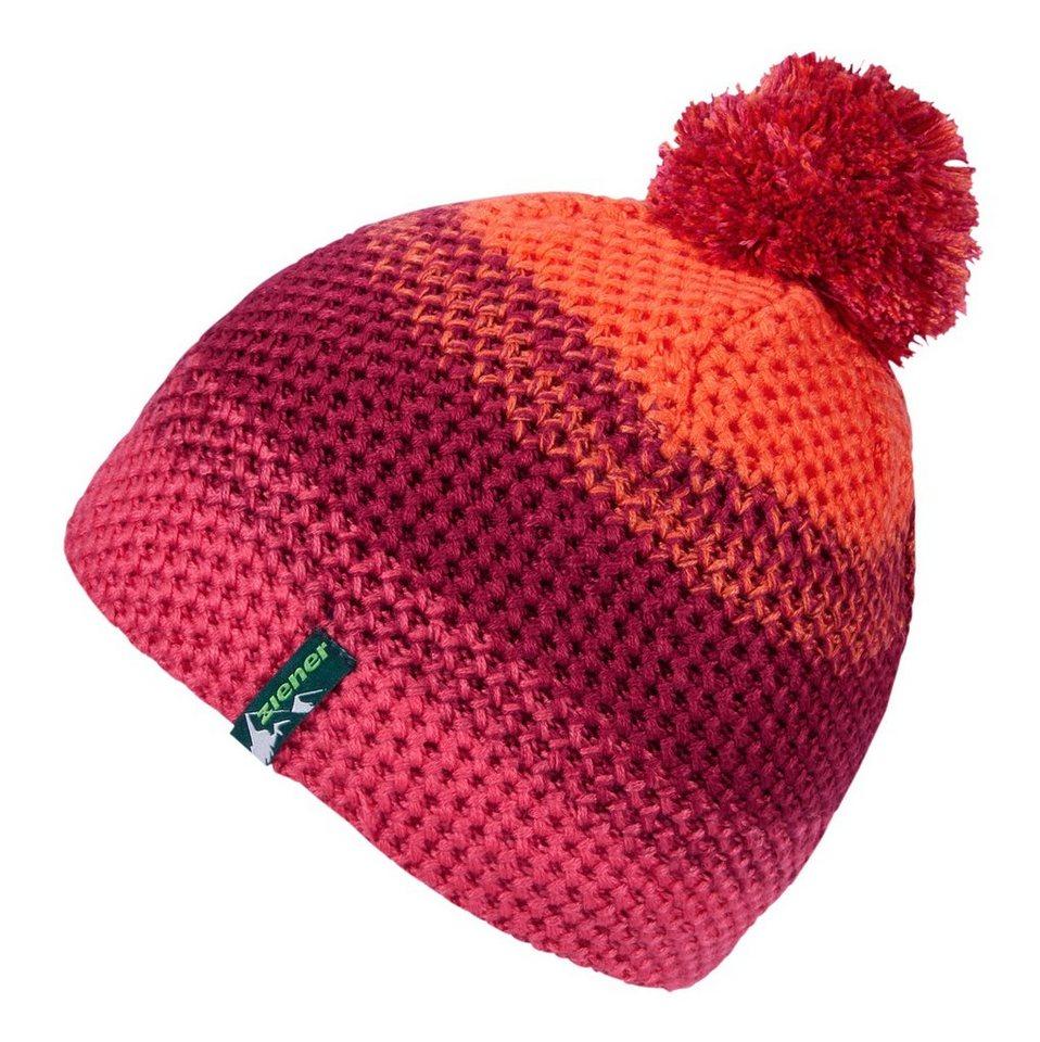 Ziener Mütze »ISHI JUNIOR hat« in berry pink