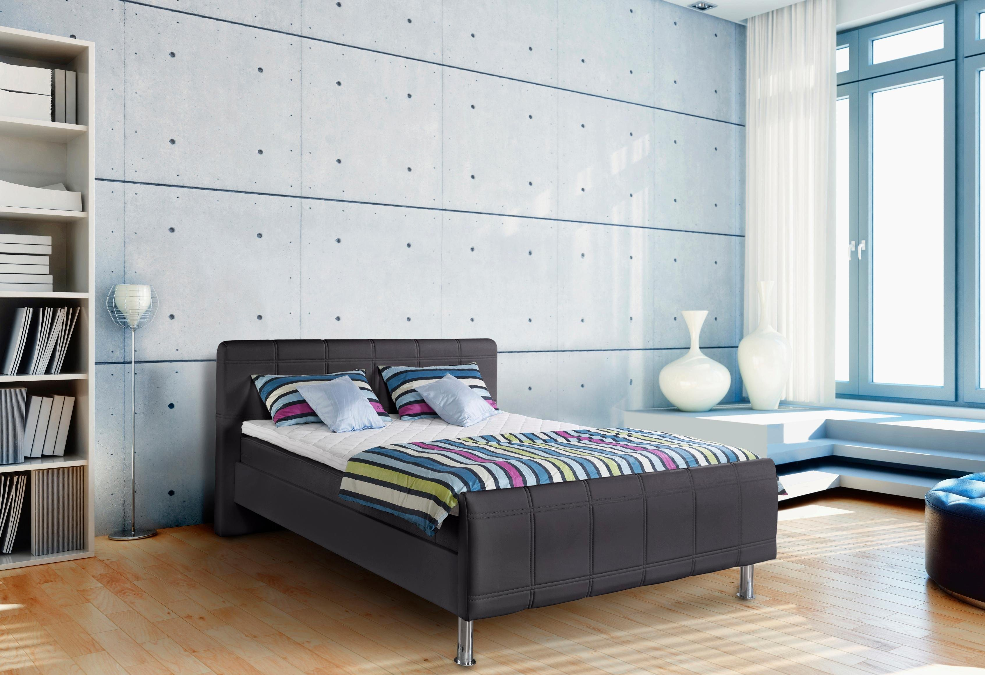 chrom federn boxspringbetten online kaufen m bel. Black Bedroom Furniture Sets. Home Design Ideas