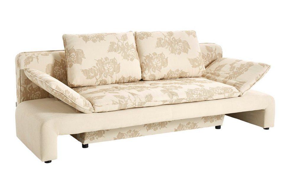 heine home sofa mit schlaffunktion und bettkasten online kaufen otto. Black Bedroom Furniture Sets. Home Design Ideas