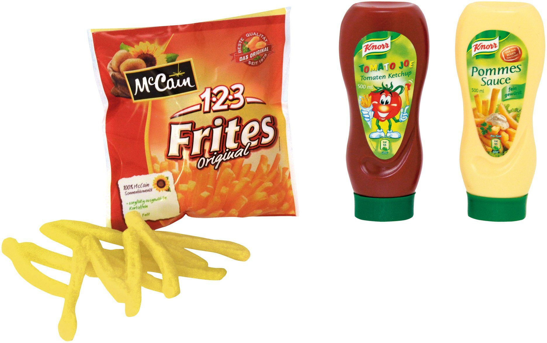 Tanner Spiellebensmittel, »Pommes mit Ketchup und Mayo«
