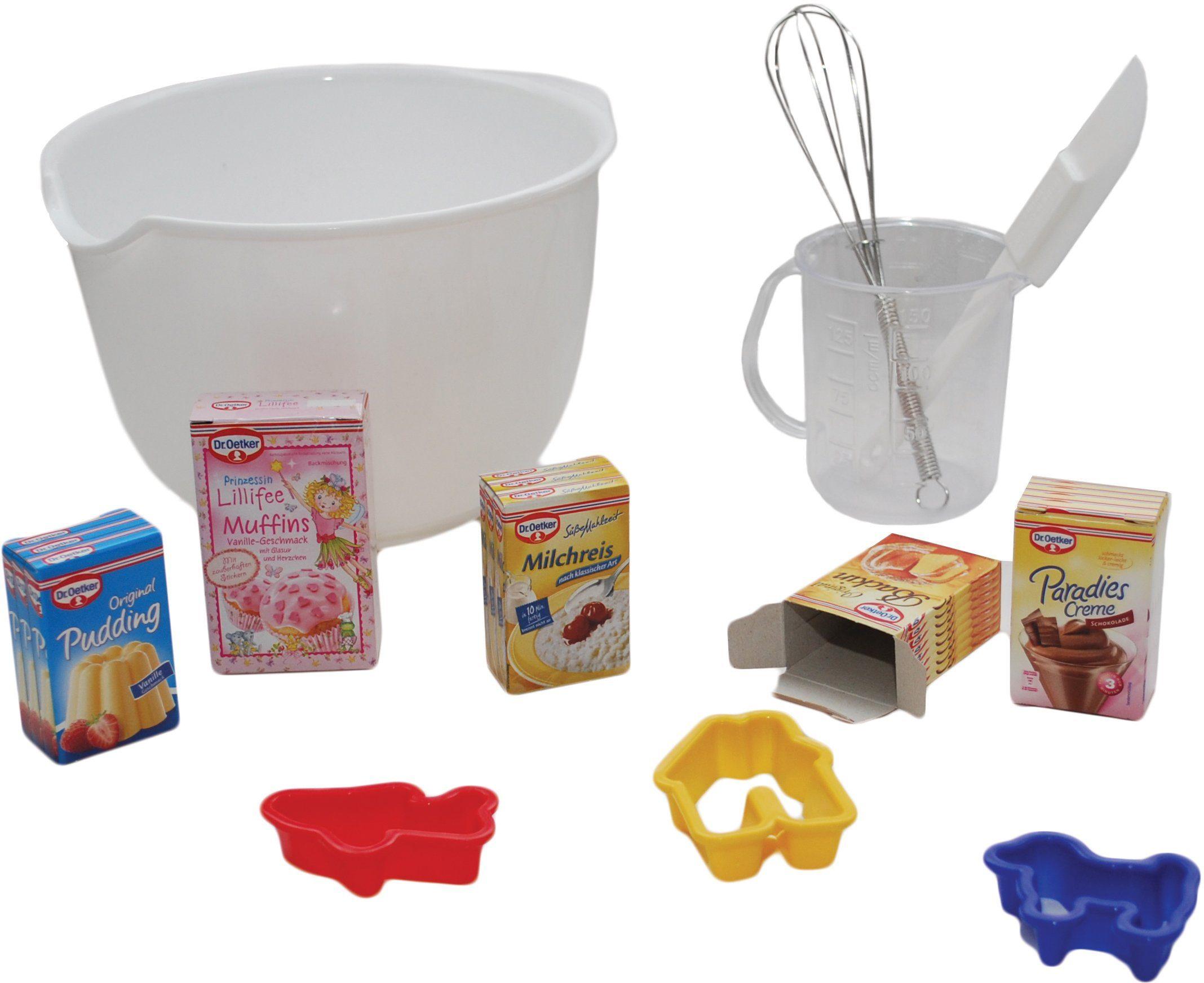Tanner Spielküchen Backset mit Markenminiaturen, »Dr. Oetker Backschüssel«