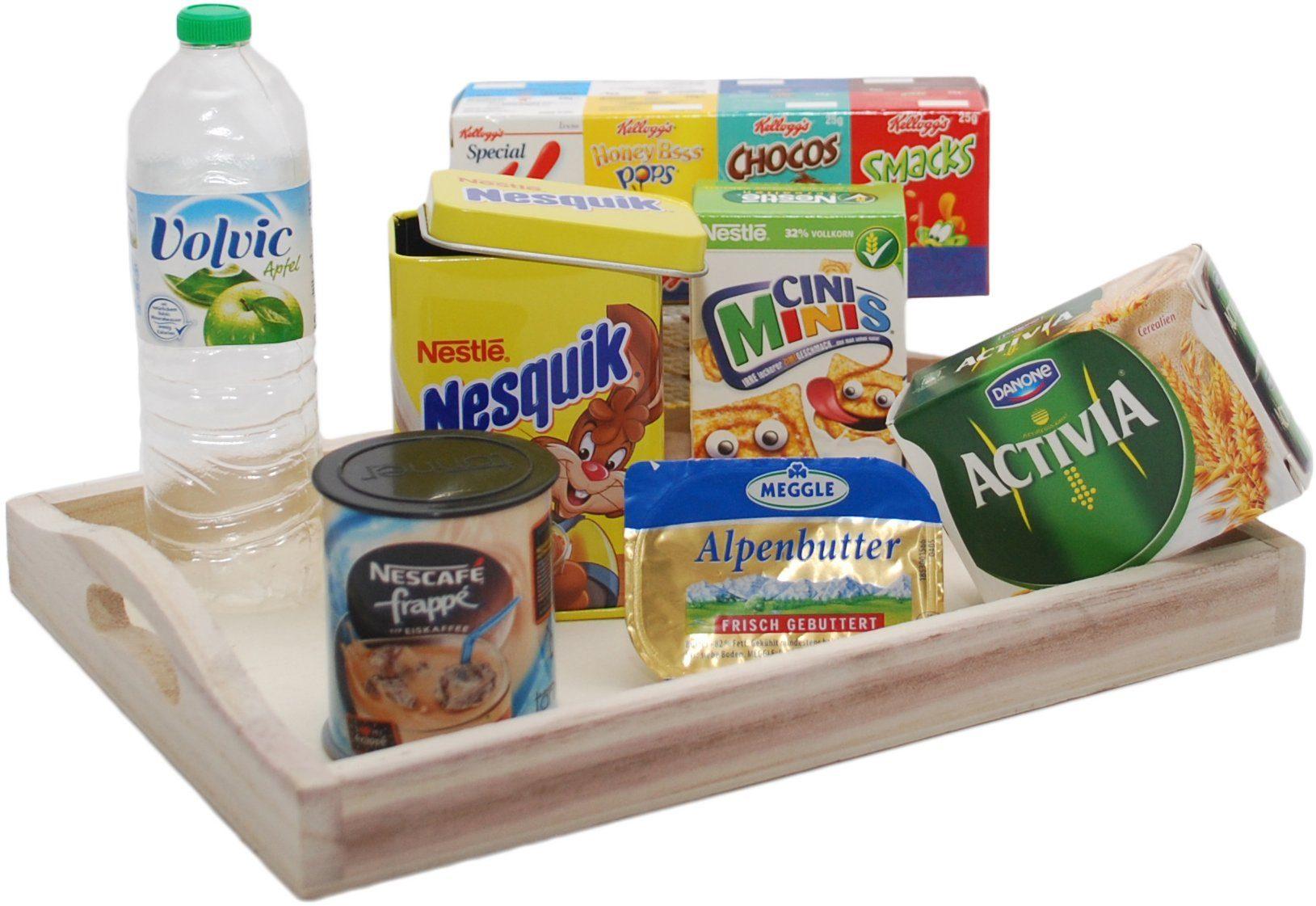 Tanner Spiellebensmittel mit Holztablett, »Frühstücksgarnitur«