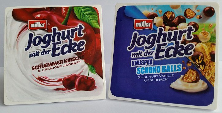 Tanner Spiellebensmittel, »Müller's Joghurt«