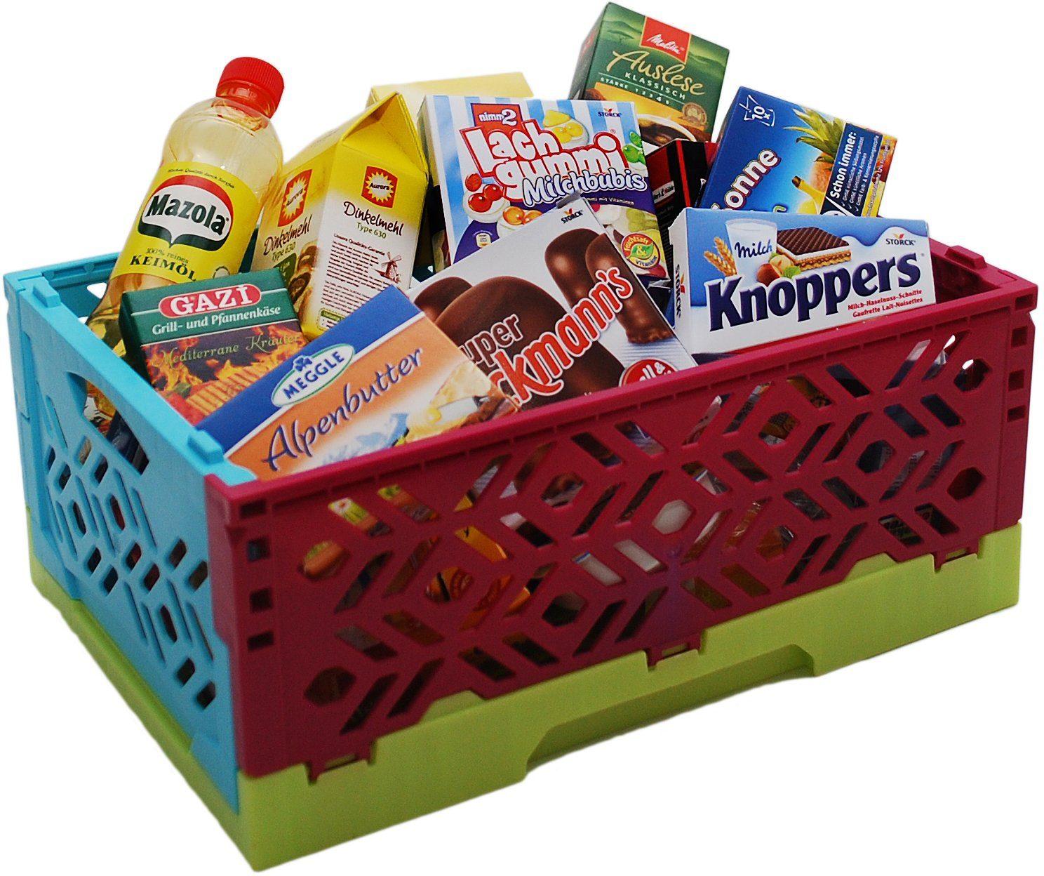 Tanner Spiellebensmittel mit Kiste, »Mini Klappbox «