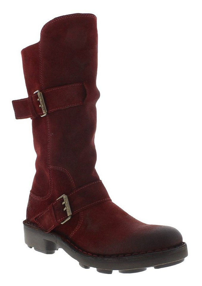 FLY LONDON klassischer Stiefel »NAIO898FLY« in rot
