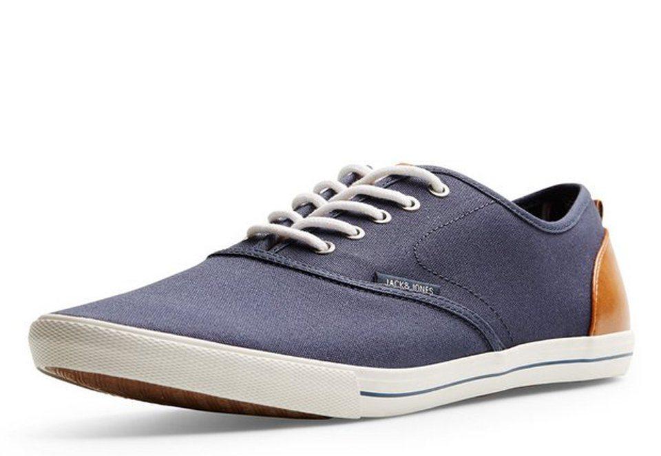 Jack & Jones Leinen- Sneaker in Dress Blues