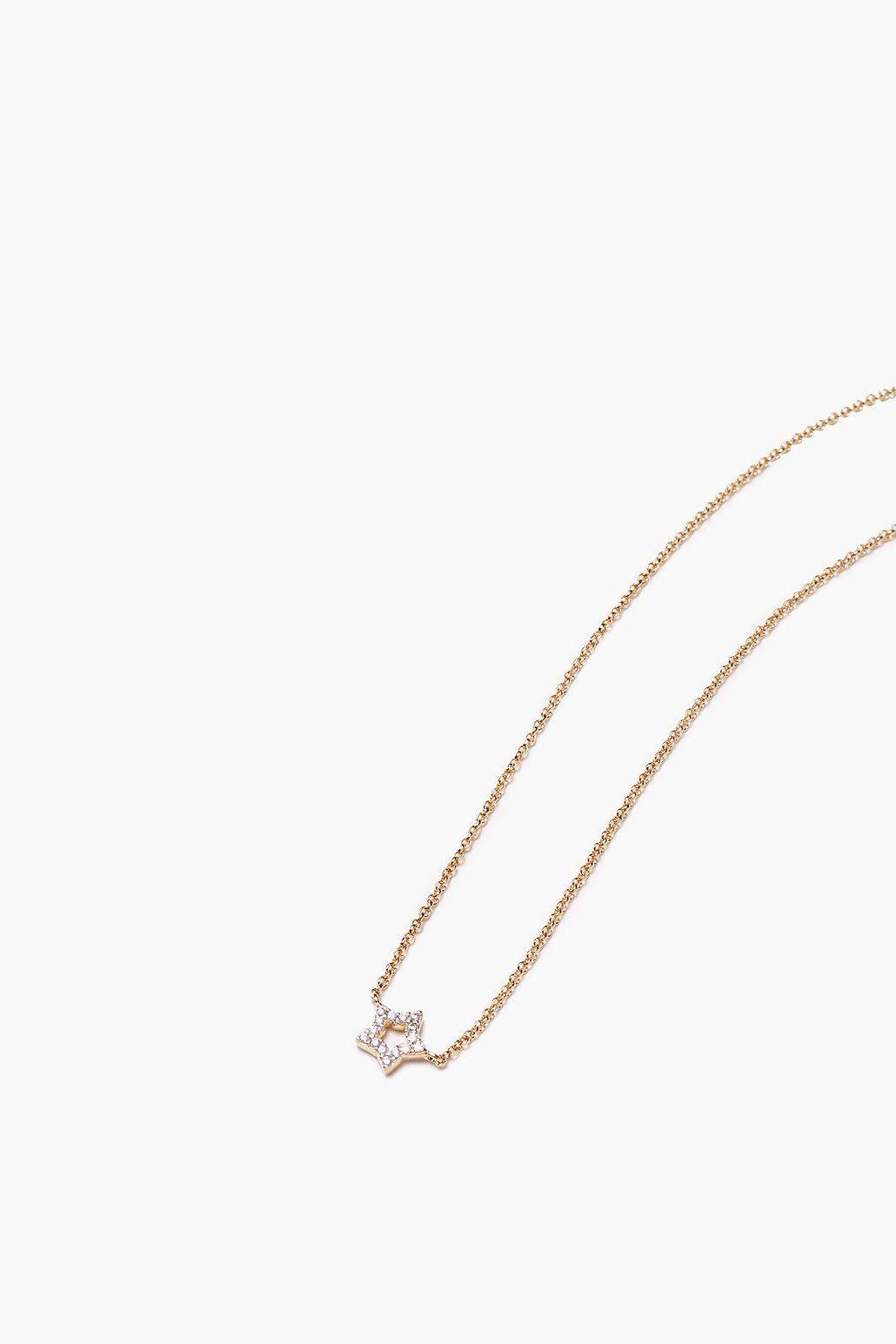 ESPRIT CASUAL Kette aus vergoldetem Sterling Silber