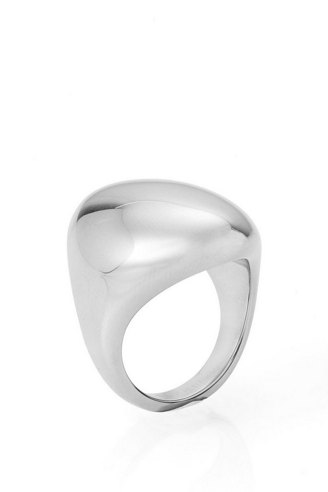 ESPRIT CASUAL Edelstahl-Ring mit Wölbung in one colour