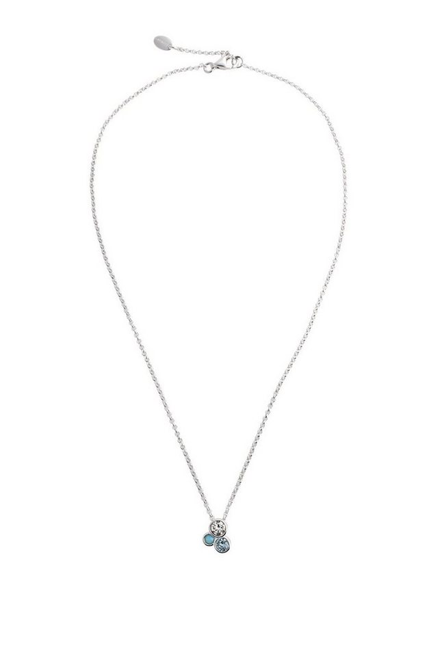 ESPRIT CASUAL Sterling Silber Kette mit Zirkonia-Charm in one colour