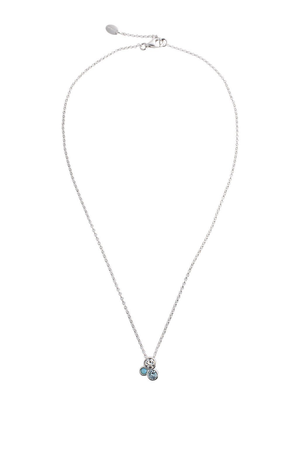 ESPRIT CASUAL Sterling Silber Kette mit Zirkonia-Charm