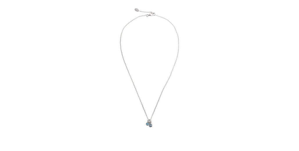 ESPRIT CASUAL Sterling Silber Kette mit Zirkonia-Charm