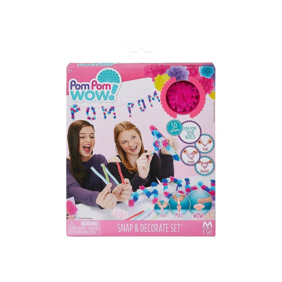 BOTI Pom Pom Wow - Snap and Decorate Set