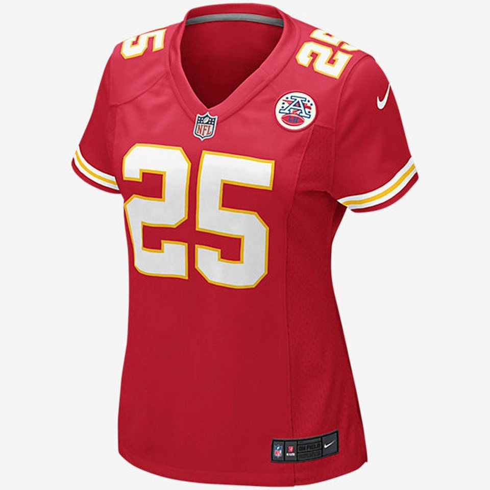 Nike Kansas City Chiefs Frauen »Trikot Home Jamaal Charles« in rot