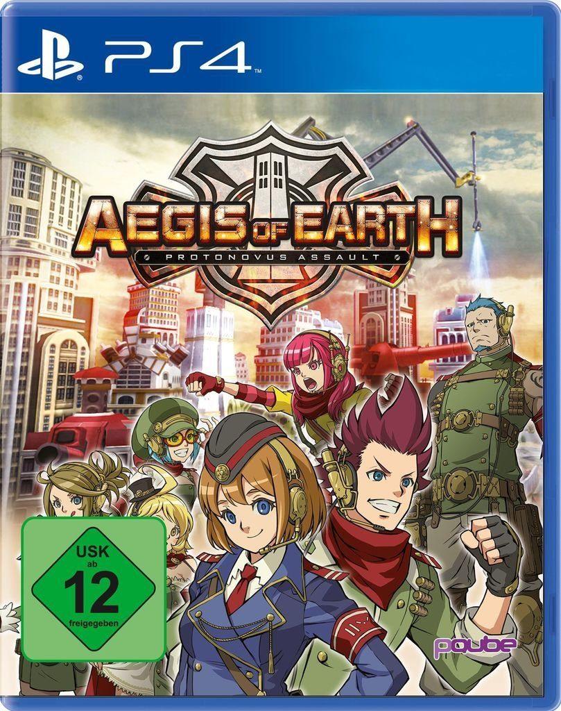 PQube Playstation 4 - Spiel »Aegis of Earth: Protonovus Assault«