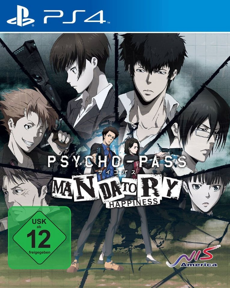 NIS Playstation 4 - Spiel »Psycho-Pass: Mandatory Happiness«
