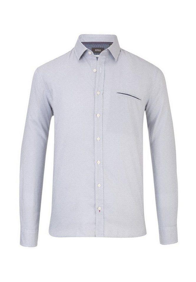 BRAX Herrenhemd »KOLJA« in GREY