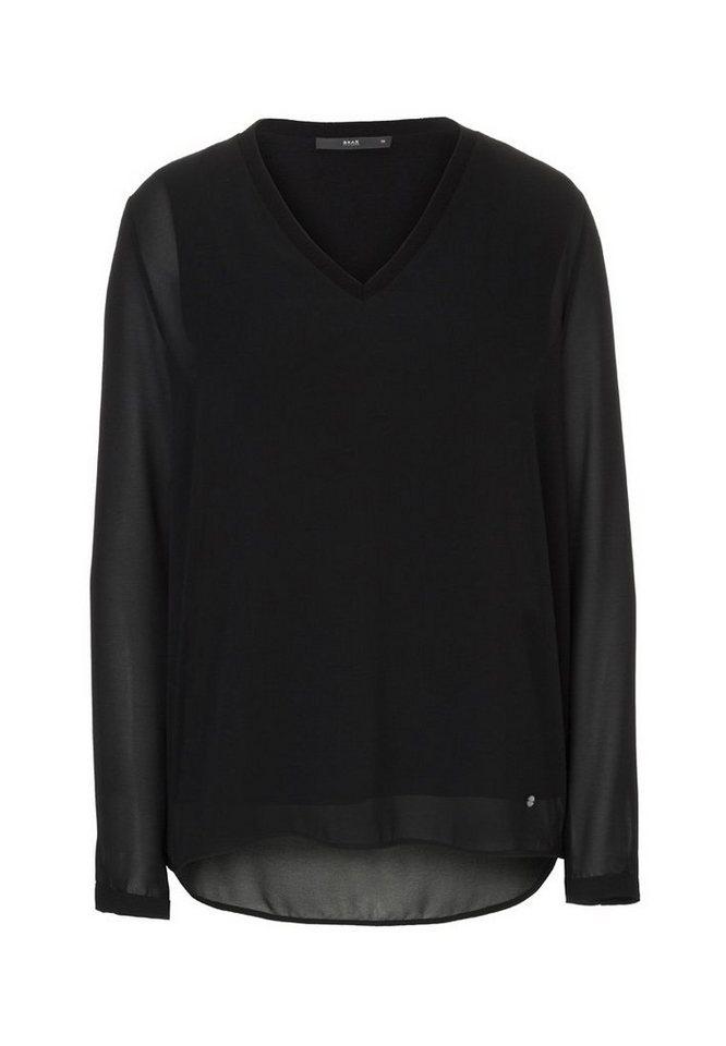 BRAX Bluse »VERGIN« in BLACK