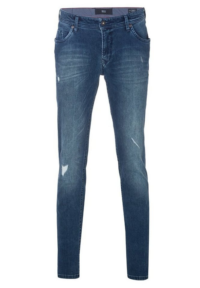 BRAX Jeans »CONNOR« in DESTROY BLUE