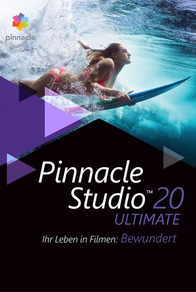 COREL Videobearbeitungssoftware »Pinnacle Studio 20 Ultimate« in weiß