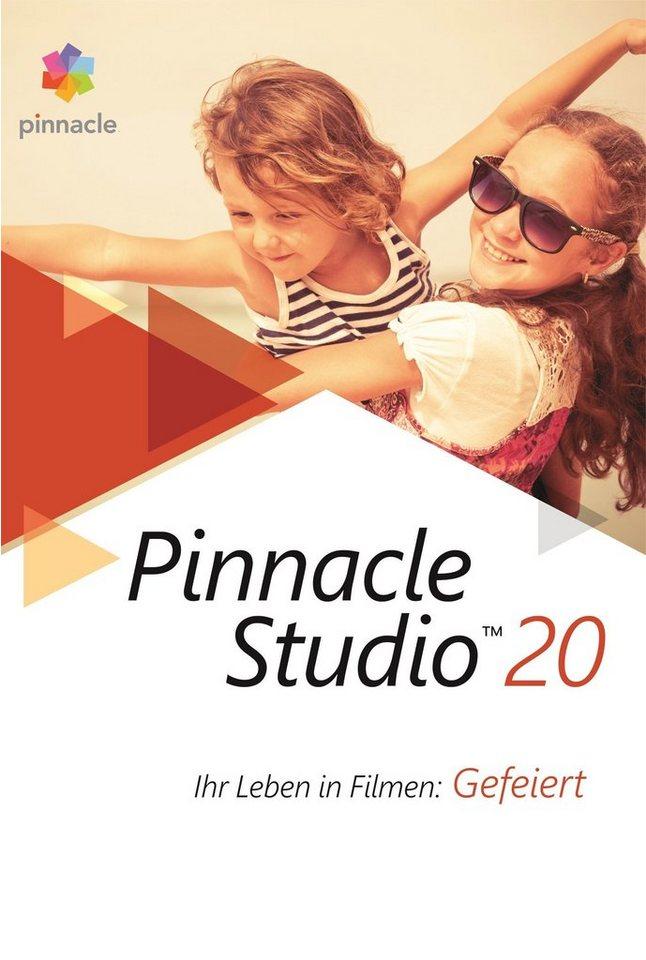 COREL Videobearbeitungssoftware »Pinnacle Studio 20 Standard« in weiß