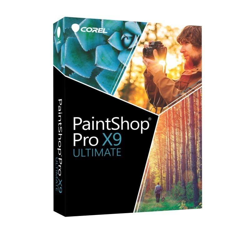 COREL Bildbearbeitungssoftware »PaintShop Pro X9 Ultimate« in schwarz