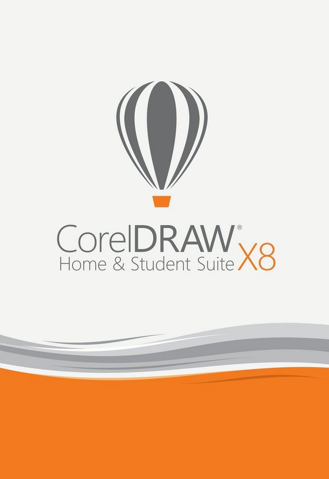 Corel Grafikdesign-Programm »CorelDRAW Home & Student Suite X8 « in weiß