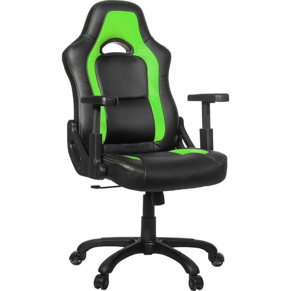 Arozzi Spielsitz »Mugello Gaming Chair Green«