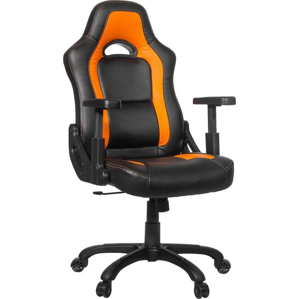 Arozzi Spielsitz »Mugello Gaming Chair Orange«