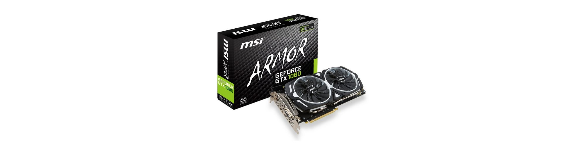 MSI Grafikkarte »GeForce GTX 1080 ARMOR 8G OC«