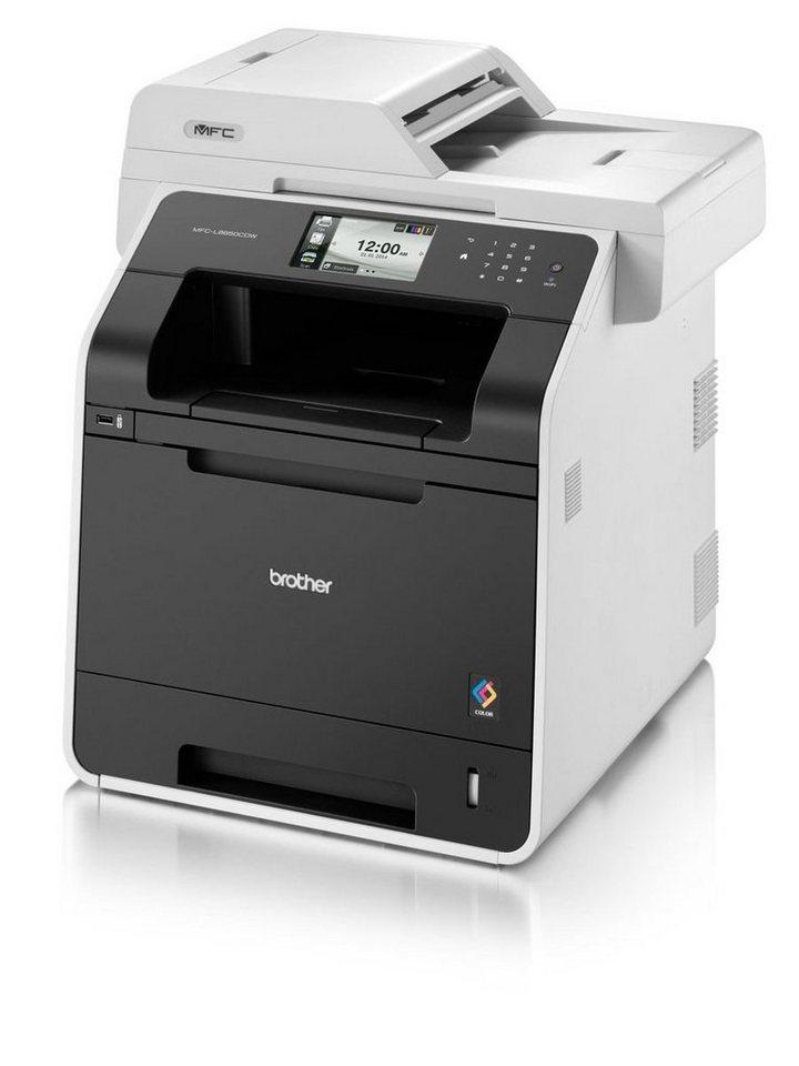 Brother Farblaser-Multifunktionsdrucker »MFC-L8850CDW 4in1 Multifunktionsdrucker« in Weiß-Schwarz