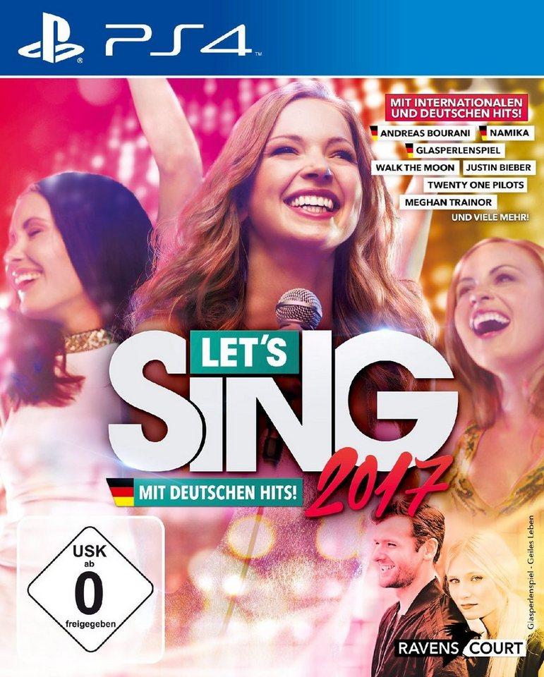 Koch Media Let's Sing 2017 inklusive Deutschen Hits »(PS4)«