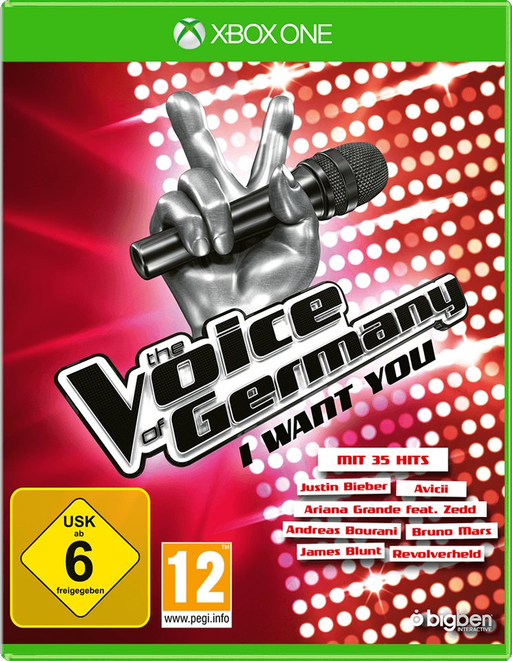BIGBEN The Voice of Germany - I want you »(XBox One)«